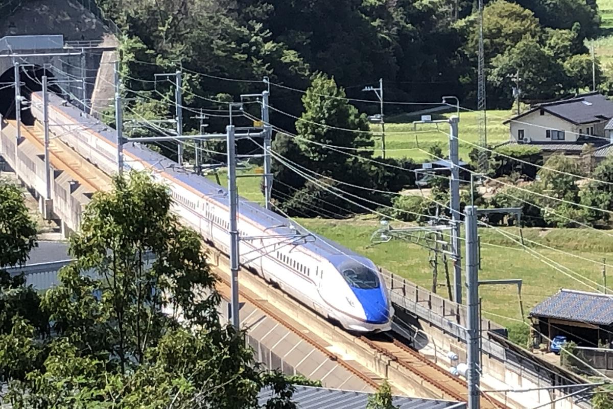 新幹線の見える丘公園