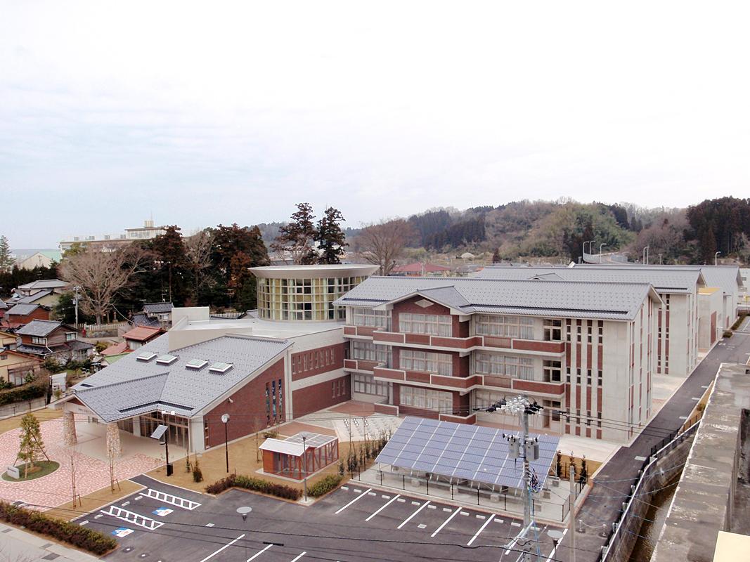 津幡小学校電気設備工事(津幡町)